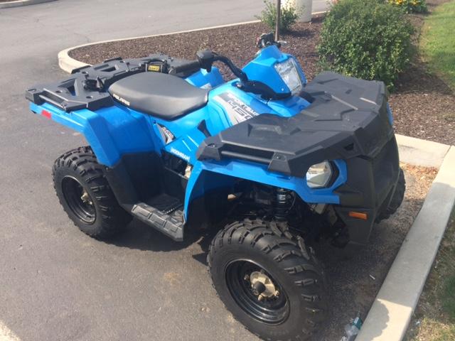 Side of 2017 Polaris ATV